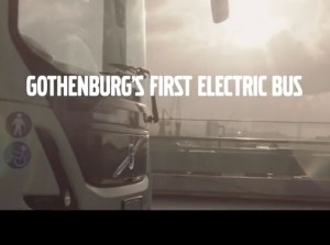 Volvo's love story demonstrates the advantages of electric buses