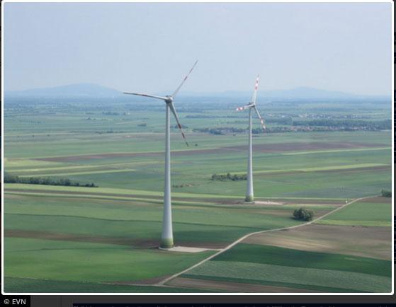 Leistungsstärkster Windpark der EVN geht in Vollbetrieb / Pressebild: IG Windkraft, c EVN