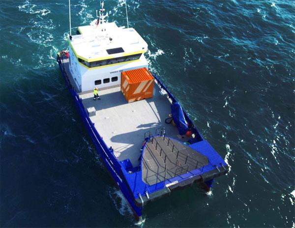 Die MEDICbox von WINDEAcare: der erste Container dieser Serie wird auf der WINDFORCE 2015 erstmalig präsentiert
