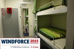 Während der gesamten Konferenz wird ELA den Offshore Living Quarter ausstellen