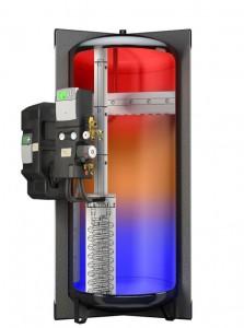 Citrin Neptun - Kompakter Solarpufferspeicher optimiert für Brennwertgeräte und regenerative Wärmeerzeuger / Pressebild