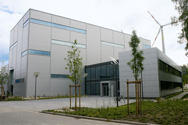 Das Testzentrum Tragstrukturen in Hannover (© Hermann Kolbeck Fotografie, Hannover).