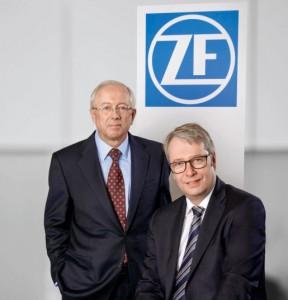 Stefan Sommer und John C.Plant / Pressebild: ZF