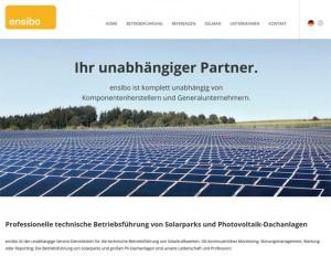 Internetseite ensibo