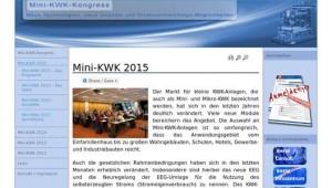 Der Mini-KWK-Kongress 2015 informiert über wichtige Aspekte einer erfolgreichen KWK-Projektierung (Bild: BHKW-Infozentrum)