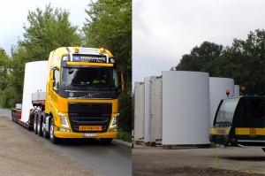 Windbranche für Erleichterung bei Schwerlasttransporten und deutliche Entlastung der Polizei / Fotos: HB