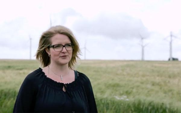 Bauteile von Windanlagen sicher und zuverlässig machen. / Video:Daimler und Benz Stiftung