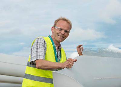 Peder Bay Enevoldsen - Dem Wind die Zähne zeigen I Pressebild: Siemens