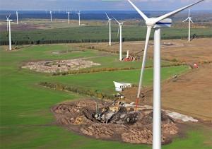 Mit 93 MW etabliert sich der Windpark Klettwitz wieder als einer der zehn leistungsstärksten Standorte in Deutschland.