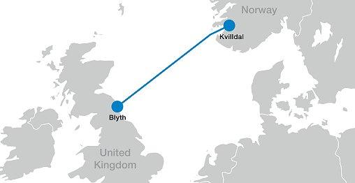 ABB erhält Auftrag über 450 Mio. US-Dollar für HGÜ-Verbindung zwischen Norwegen und Grossbritannien / Pressebild: ABB