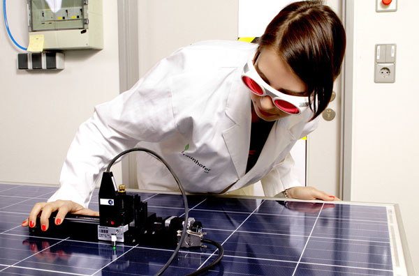 Schaufenster der Photovoltaik-Innovationen / Bild: BSW-Solar