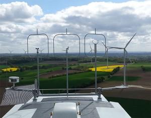 Bild: Windpark La Ferrière / Frankreich  Quelle: P & T Technologie SAS