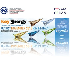 Key Energy- Fachmesse für Energie und Mobilität, vom 03. bis 06. November 2015 in Rimini