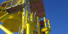 Offshore-Wartung / Pressebild: RWE