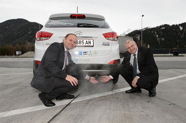 Die Zukunft der Mobilität: Wasserstoff statt Benzin und Diesel. Foto: Hyundai/Lackner
