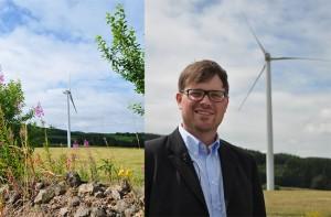 Energiegewinner übernehmen Windpark in Hinterweiler / Pressebilder