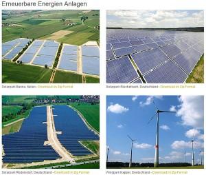 Erneuerbare Energien Anlagen von CHORUS