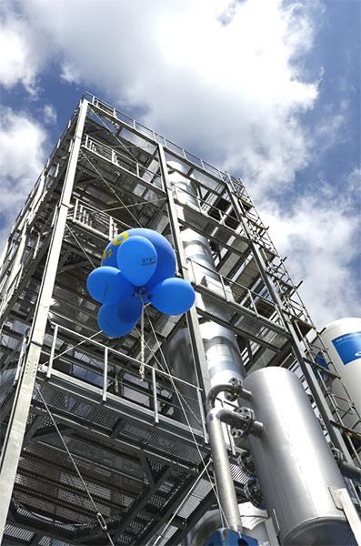 Hochinnovative Power-to-Gas-Technologie kommt aus Pirmasens / Pressebild: PIF