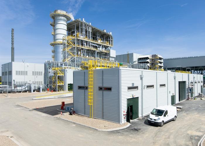 Gas-Kombikraftwerk Bayet in Frankreich. / Pressebild