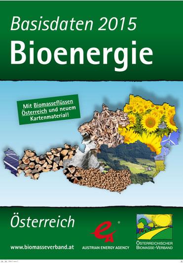 Österreichischer Biomasse-Verband präsentiert Basisdaten Bioenergie 2015