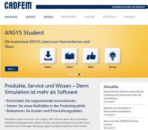 Internetauftritt: http://www.cadfem.de/