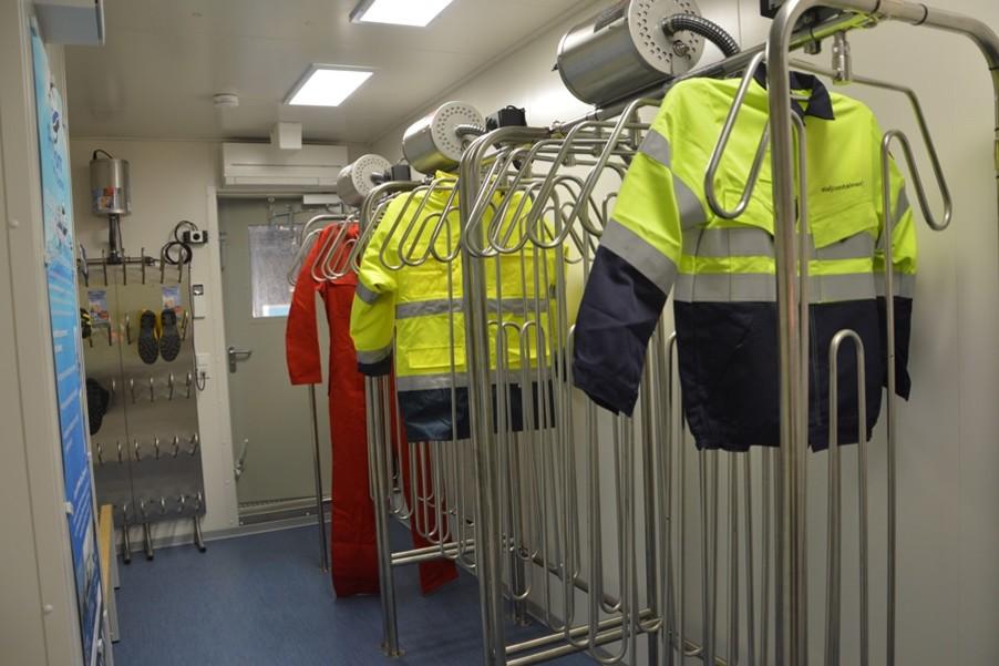 Die ELA Container Offshore GmbH hat mehrere Trocknungssysteme von der holländischen Firma Pronomar BV auf Vorrat bestellt. / Pressebild
