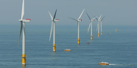 Offshore-Windpark Greater Gabbard / Pressebild: RWE
