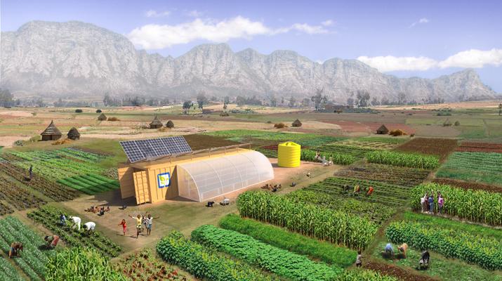 Komplettlösung für Mikrolandwirtschaft / Pressebild: SMA