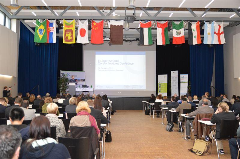 Gäste aus 17 Ländern fanden sich zur Vorstellung internationaler Projekte sowie zu Kooperationsgesprächen mit deutschen Unternehmen zusammen.