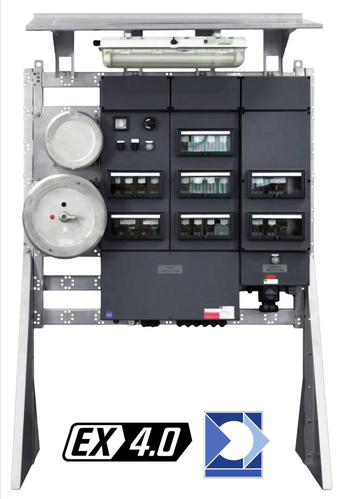 Ein optimiertes modulares Design sorgt bei R. STAHL dafür, dass Kunden individuell passende Energieverteilungen einfacher und schneller erhalten können / Pressebild: R. Stahl