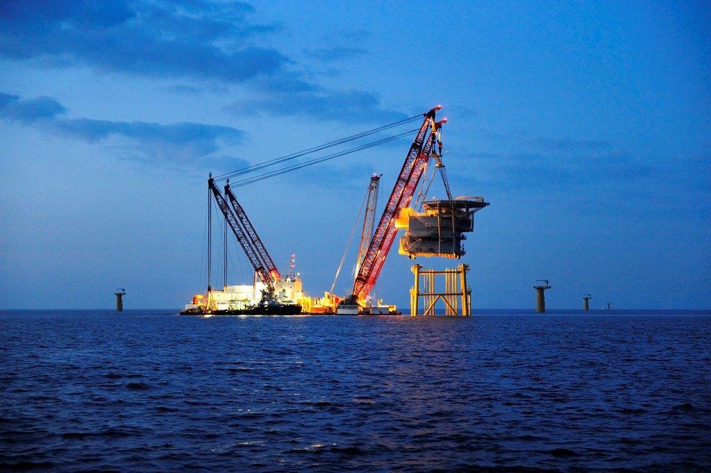 SH Netz überwacht Umspannwerk auf hoher See / Pressebild: SH Netz