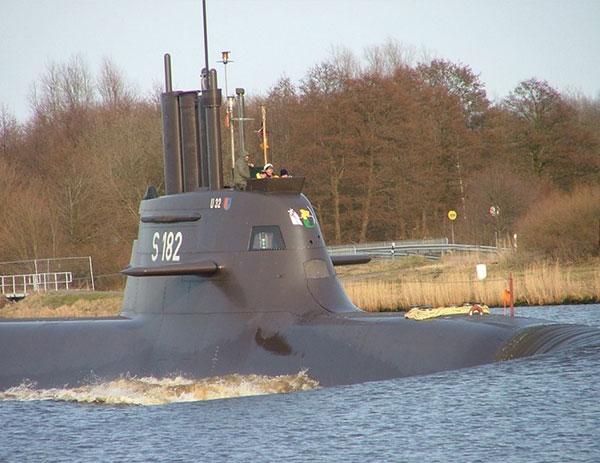 Ein deutscher Exportschlager, Israel, Grichenland, Saudiarabien, ... deutsche U-Boote sind zuverlässig und können sogar mit Trägern für Atomwaffen bestückt werden / Foto: HB