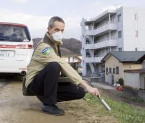 Der Wissenschaftliche Ausschuss der Vereinten Nationen zur Untersuchung der Auswirkungen der atomaren Strahlung UNSCEAR spielt, unter Einfluss der pro-atomaren Länder, die Auswirkungen der Fukushima-Katastrophe auf Null herunter. / Pressebild: Global 2000