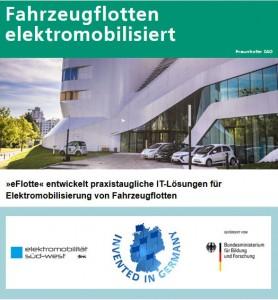 Pressebilder: eFlotte/  Fraunhofer IAO