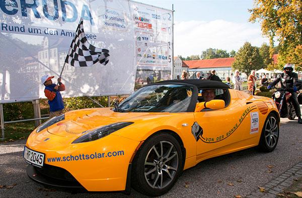 Tesla Roadster / Pressebild: eRUDA