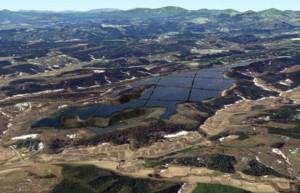Mega-Solarprojekt in Japan, Furukawa / Pressebild: GE