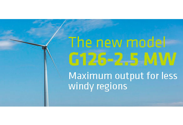 Gamesa's G126-2.5 MW named best turbine of the year in the up to 2.9 MW category by Windpower Monthly