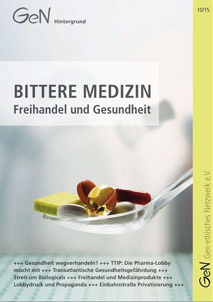 TTIP, CETA & Co: Bittere Medizin nicht schlucken!
