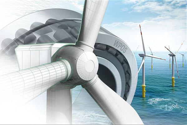 Schaeffler hat für seine Windkraftlager einen neuen Wind-Power-Standard (WPOS) eingeführt, der den steigenden Anforderungen an die Zuverlässigkeit von Anlagen und Komponenten in der Windkraft Rechnung trägt. Mit dem neuen Standard für Produkte und Prozesse sichert Schaeffler höchste Qualität und Zuverlässigkeit. / Pressebild