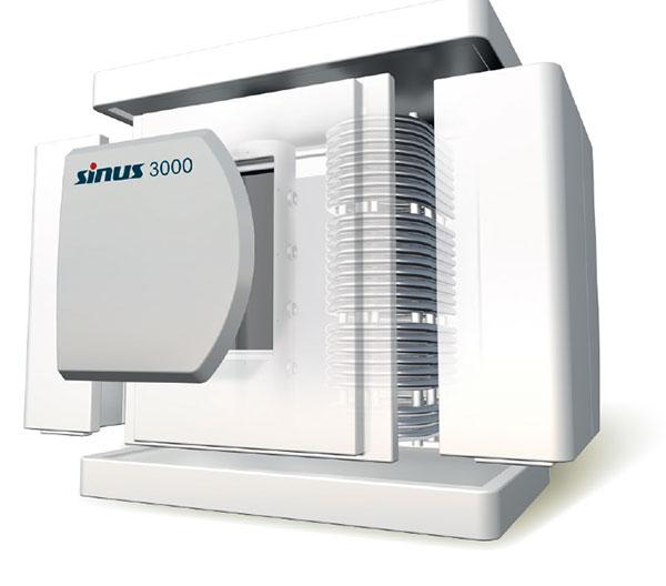 Dabei wurde besonders anerkannt, dass sich unser modularer Wärmespeicher neuester Generation, mit einem Volumen bis zu 5.000 Liter, durch die konsequente Anwendung modernster Composite-Materialien und –Technologien von allen marktüblichen Wärmespeichern abhebt. / Pressebild: SINOI