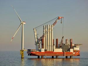 E.ON Offshore-Windpark / Pressebild