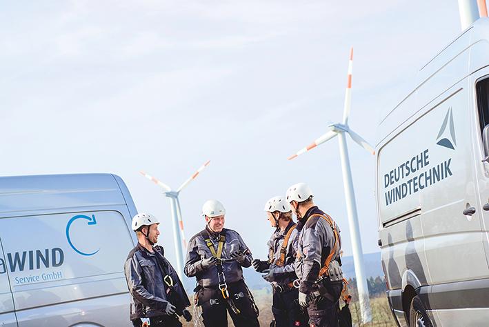 2016 wird die Deutsche Windtechnik X-Service auch neue Instandhaltungsaufgaben in weiteren Windparks der 2MW-Senvion-Baureihe übernehmen.