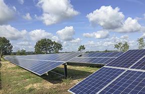 1,56-MW-Solarpark mit M50A Wechselrichter von Delta auf ehemals verlassenem Gelände in Lynow errichtet / Pressebild