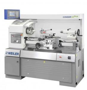 """WEILER Präzisions-Drehmaschine Condor VC Plus mit Energiesparsystem """"e-TIM"""" (Foto: WEILER Werkzeugmaschinen GmbH)."""