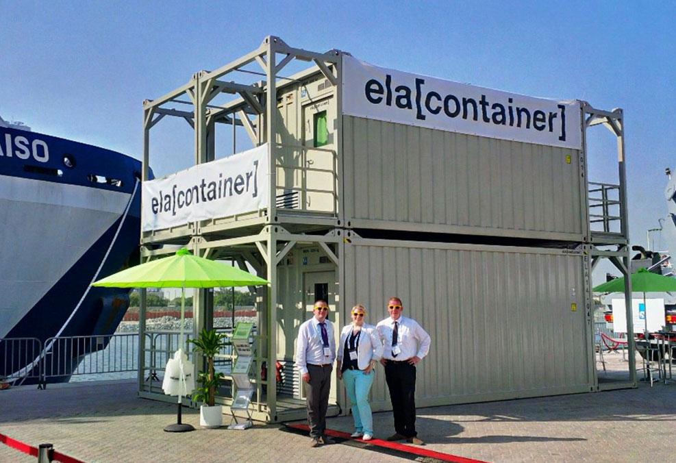 Eine Teilnahme an internationalen Messen ist laut ELA ein wichtiger Faktor zur Kundenbindung und Steigerung der Bekanntheit auch über die eigenen Landesgrenzen hinaus: hier auf der ADIPEC in Abu Dhabi / Pressebild: ELA