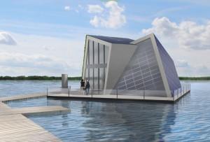 © Foto Fraunhofer IVI  Frei Haus im See: Strom, Wärme, Wasser