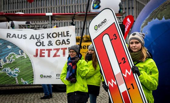 Klimaschutz jetzt! Foto: Jörg Farys / BUND