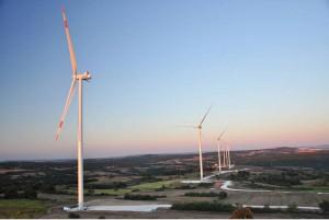 STEAG treibt den Ausbau der Windkraft mit 60 MW-STEAG-Windpark in Türkei planmäßig voran / Pressebild: Steag