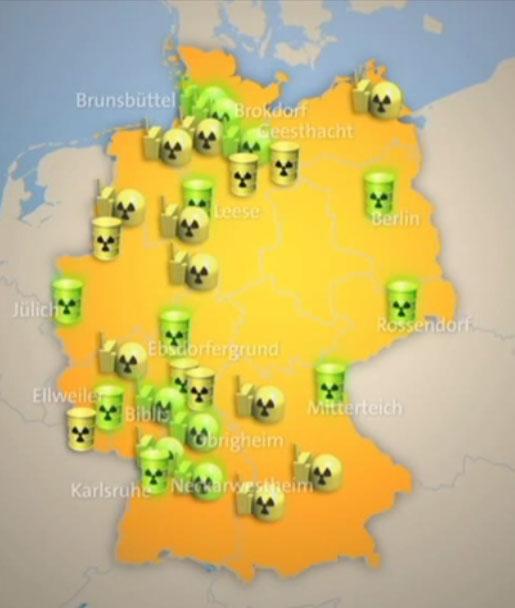 Atommüll in Deutschland / Video von ARD Mittagsmagazin