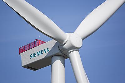Zehn Siemens Windenergieanlagen vom Typ SWT-4.0-130 werden sauberen Strom für rund 8.600 elektrisch beheizte finnische Haushalte liefern. / Pressebild